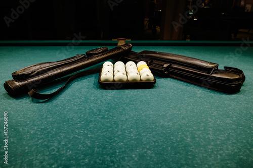 Staande foto Russian Billiards