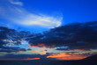 beautiful sunset on maui