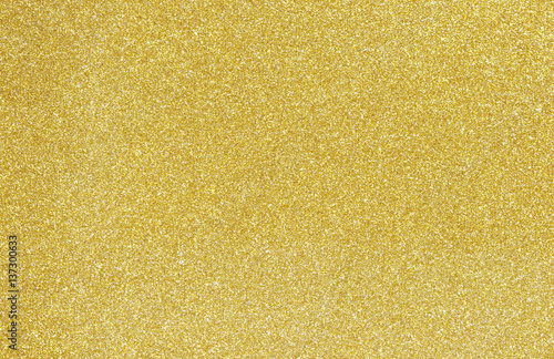 Shiny hot yellow gold foil golden color