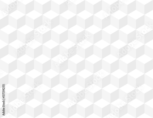 White seamless texture box pattern - 137314255