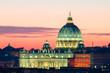 Quadro Roma San Pietro in Vaticano