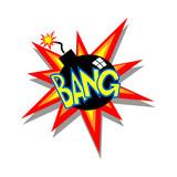 Cartoon Bomb Icon