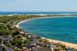 Areial of Provincetown Massachusetts