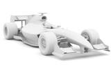 Formula race car