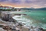 Amazing sunset over Ciovo island, Croatia