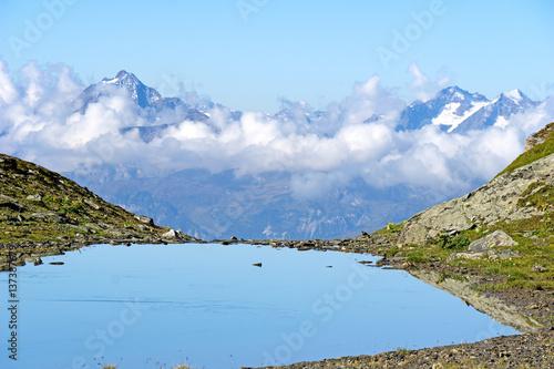 Foto op Canvas Bergen Bergee in den Tiroler Alpen
