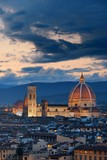 Florence Cathedral skyline night