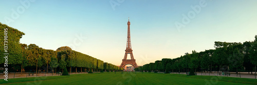 Wall mural Eiffel Tower Paris