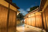 Ishibekoji old street night time,Higashiyama,Kyoto,Japan