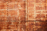 Fototapety Old rusted ship hull fragment