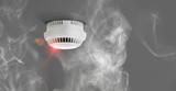Rauchmelder in Wohnung - Feuermelder