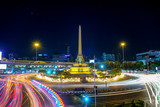 Victory Monument has long served as one of the busiest transportation hubs in Bangkok, Thailand