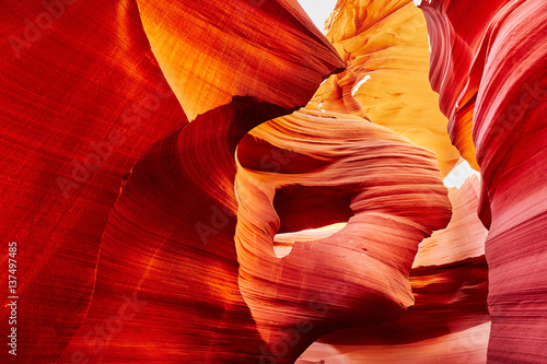 Lower Antelope Canyon in the Navajo Reservation near Page, Arizona, USA Poster