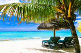 Romantic relaxing holidays in tropical island