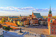 Top view of the old city in Warsaw. HDR - high dynamic range - 137518248