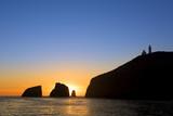 Sunrise at Anacapa Island