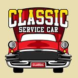 classic service car