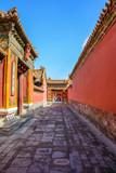 Courtyard of the Forbidden City in Beijing