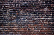 background black walls, dark brick texture for design