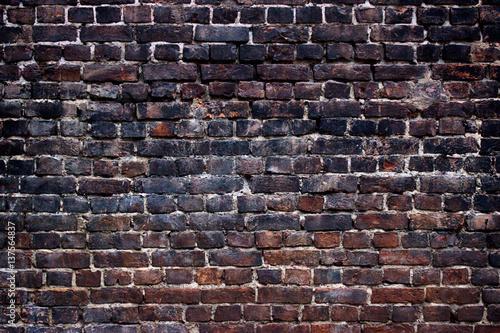 background black walls, dark brick texture for design