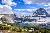 Hidden Lake in  Glacier National Park, Montana