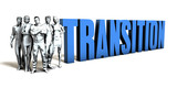Transition Business Concept