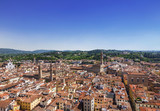 Panorama of Florence. The view from the top. Italy