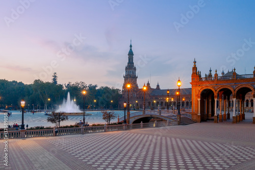 Seville. Spanish Square.