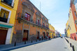 Streets of Puebla city, Mexico