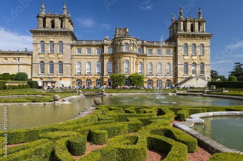 Blenheim Palace, England, United Kingdom.