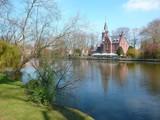 Bruges, Minnewater (Belgique)