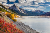Autumn at Medicine Lake, Jasper National Park, Alberta, Canada