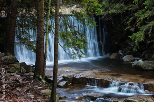 Waterfall in Karpacz - 137649277