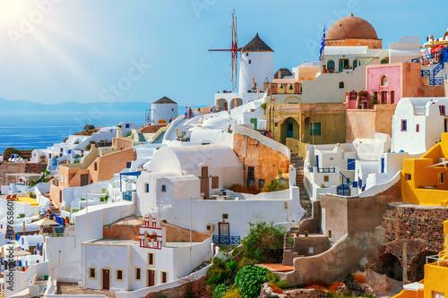 Zdjęcia na płótnie, fototapety na wymiar, obrazy na ścianę : Oia, Santorini Island, Greece