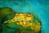 modern abstract painting on canvas crude oil with texture, landscape, illustration