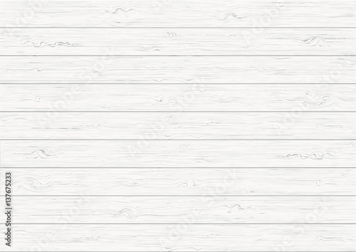 White wood plank texture background - 137675233