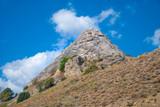 Summer mountains - Grass - Blue sky - Landscape