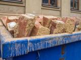 Ziegelsteine Bauschutt