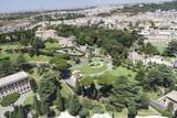 Панорама Рима с купола дворца Святого Петра