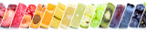 Früchte Frucht Obst Gruppe Sammlung Orange Beeren Bananen - 137707699