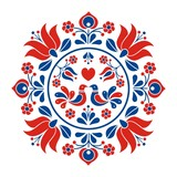 Hungarian folk vector motif - 137734243