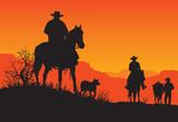 American Western Cowboy - 137734617