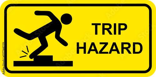 trip hazarad