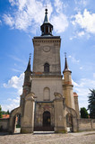 Old church in Osieczna, Poland