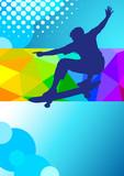 Skateboard - 42 - Poster