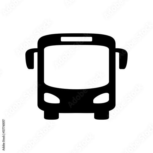 Fototapeta Bus icon