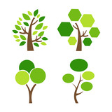 Tree Icon vector illustration