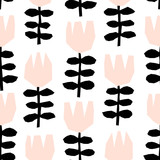Abstract Floral Pattern - 137765254