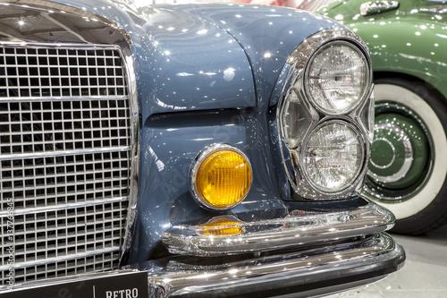 old and vintege german car Poster