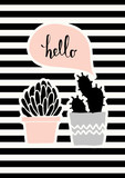 Cute Cacti Poster Design - 137773243